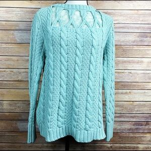 Lauren Conrad Cable Knit Sweater